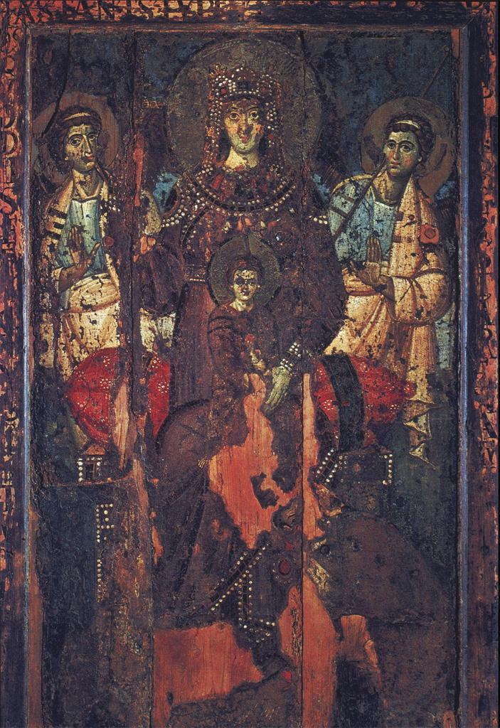 Trastevere Madonna Paintings